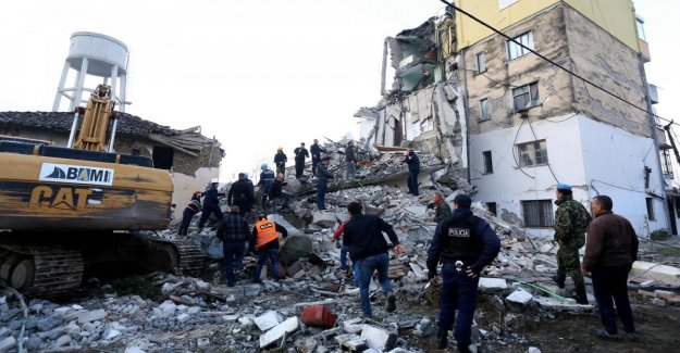 Earthquake in Albania: strong quakes continue to hit the most Durazzo: at least 23 people dead and 650 wounded