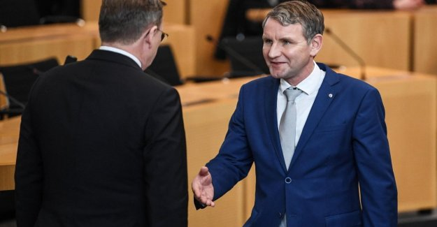 Germany, re-elected Bodo Ramelow in Thuringia. But only until April 2021