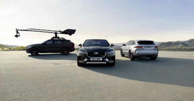Idea Jaguar, transforming an Suv into a giant camera