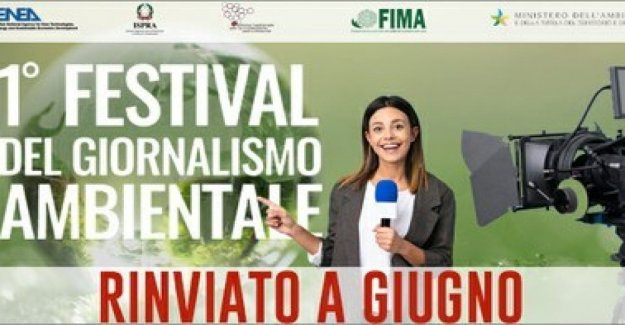 In June the first Festival of environmental journalism