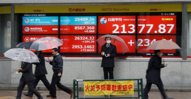 Japan, the decline of the market without end