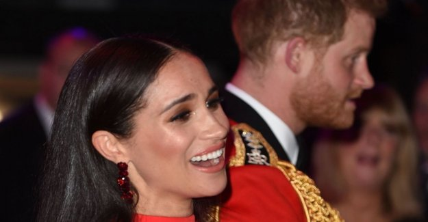 Meghan superstar, the return to London of the duke of Sussex is a triumph