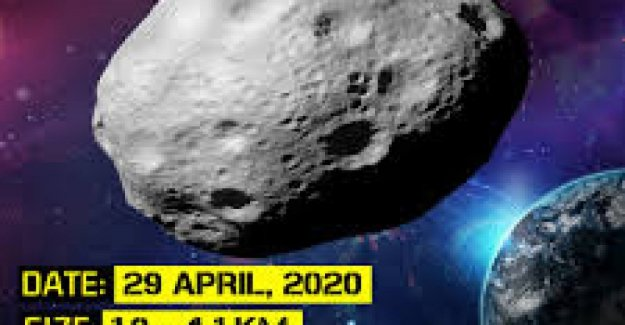 Nasa: an asteroid as big as mount Everest it will be closer to the Earth, 29 April