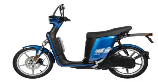 New scooter Askoll, a life in color