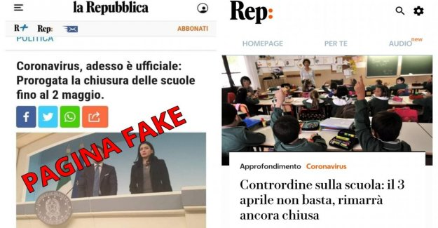School, the fake page of the Republic and the reality: here's how things stand