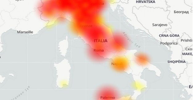 #TIMdown: malfunction of the mobile network, the reports from the whole of Italy