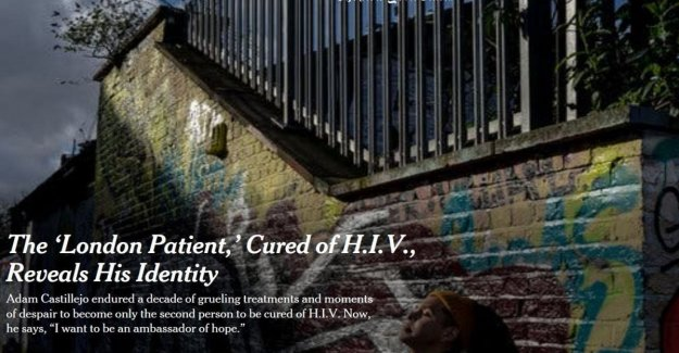 The English patient heals from Hiv: this is the second person in the world