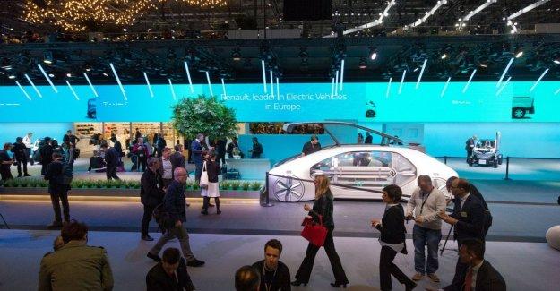 The Geneva motor show, behind closed doors