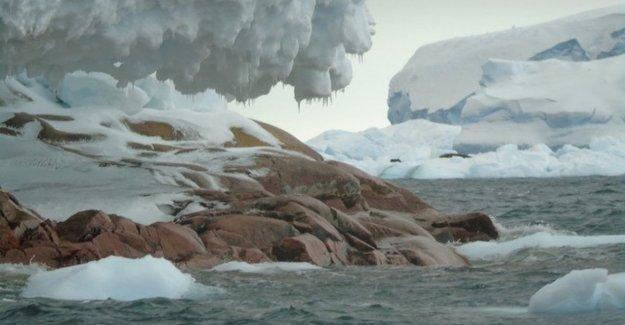 The ice sheets melt: Antarctica mark an island