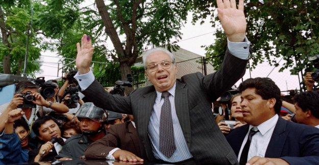 Un: the death of the former secretary-general Javier Perez de Cuellar