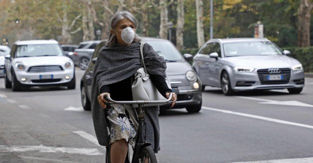 Without the traffic and with the block fall between the 5-7% of greenhouse gas emissions in the first three months