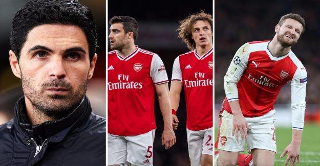Arsenal planerer a rich backutrensning