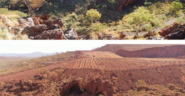 Australia: Rio Tinto acknowledges to have destroyed aboriginal cave prehistoric