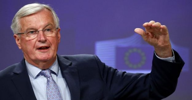 Brexit: Barnier hardens tone in the face of London