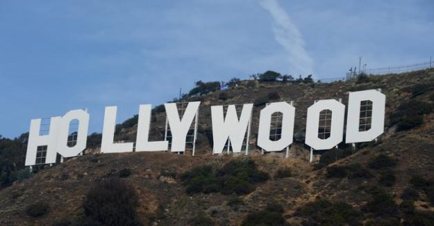 California takes up the shoots, but not in the Hollywood studios