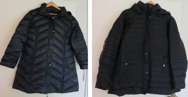 Complaints about the new jacket: The old one is warmer