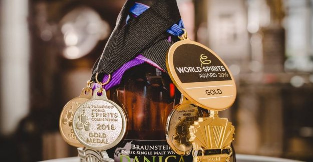 Double whisky-gold to the Danish distillery