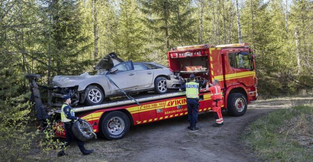 Four 16-year-old boys killed in the car accident in Sweden