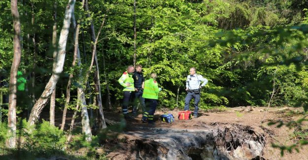 Helicopter summoned: Man unconscious at the escarpment