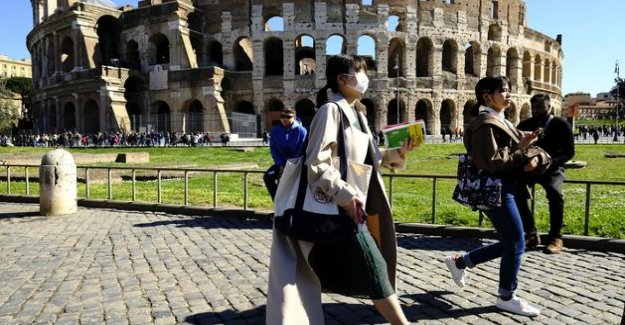 In Rome, the Colosseum will reopen on the 1st of June