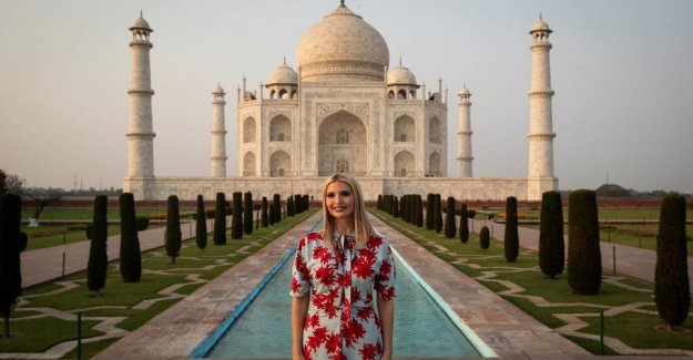 Ivanka Trump gets criticized for tweet about poor indian girl