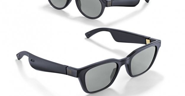 Make your sunglasses to the speakers