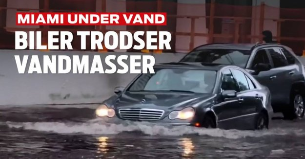 Memorial Day Washout: Miami under water