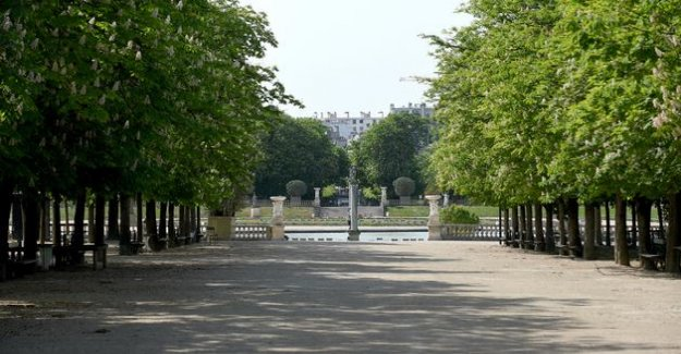 Paris grid politeness to Philip and says, by mistake the re-opening of its parks