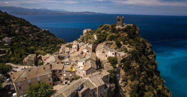 Penta-di-Casinca in Zonza, the ten most beautiful villages of Corsica