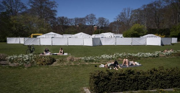 Six months of testing in the tents costs one billion kroner