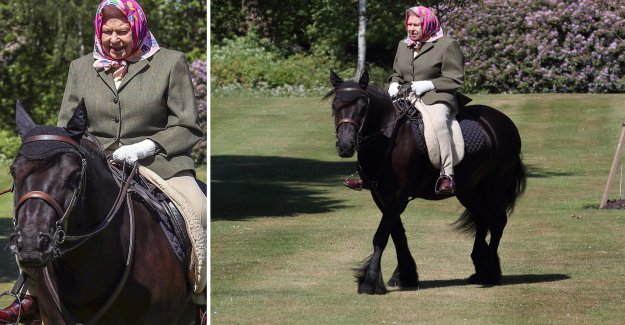 The 94-year-old, the queen is back in the saddle – on the eve of a new milestone