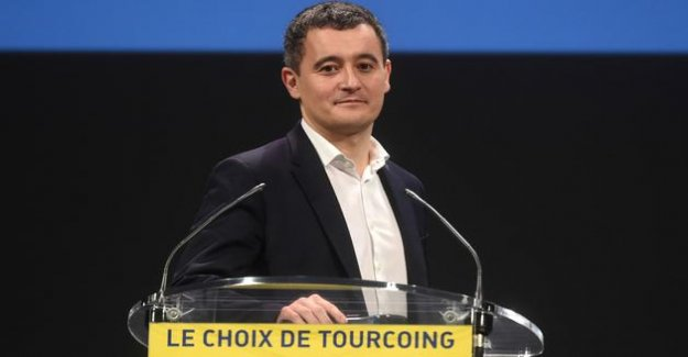 The minister Gérald Darmanin elected mayor of Tourcoing