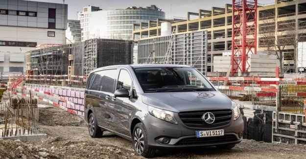 The new Vito is the country: Mercedes-kassevognen has become more economic