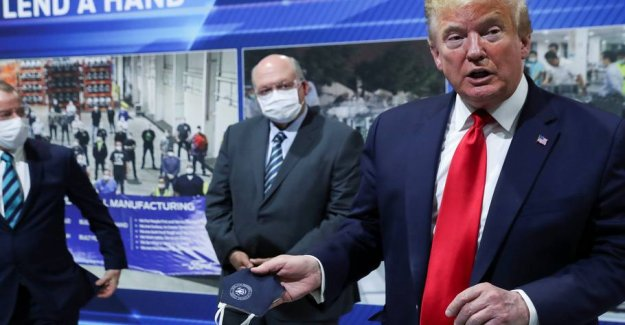 Trump failed mask despite injunction