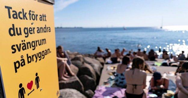 30 is recorded dead with coronavirus in Sweden