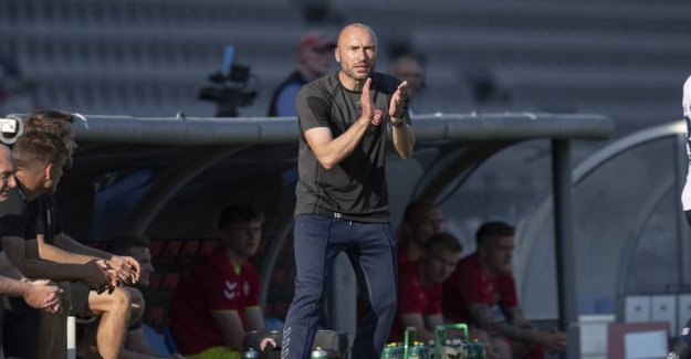 AaB coach call the prelude to the cup final for the indifferent