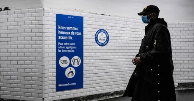 All the metro stations re-open in Paris on Monday