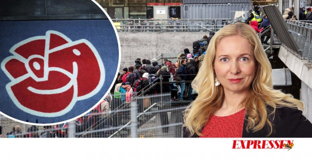 Anna Dahlberg has to run over to the MP for the Swedish and their own sake