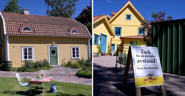 Astrid Lindgren's world theme park is closed after eleven days, the