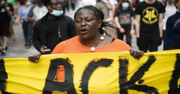 Black Lives Matter Denmark started collecting without a bank account