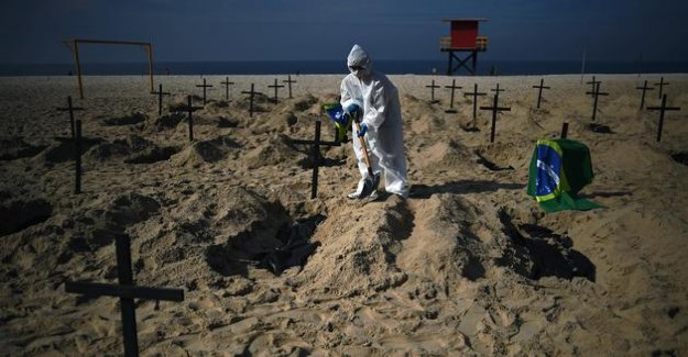Brazil, the second country the most grief-stricken by the sars coronavirus