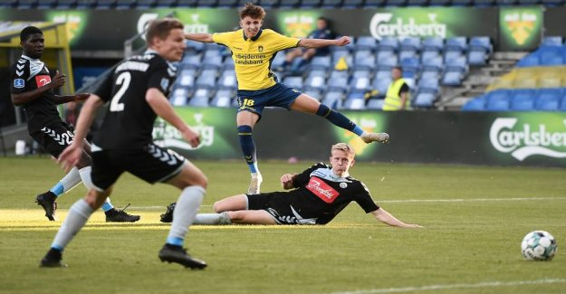 Brøndby are reporting clear out