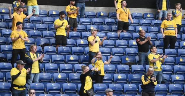 Brøndby-fans impresses: - now Close multiple check