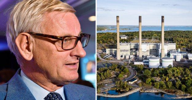 Carl Bildt's criticisms of the MP for elbristen