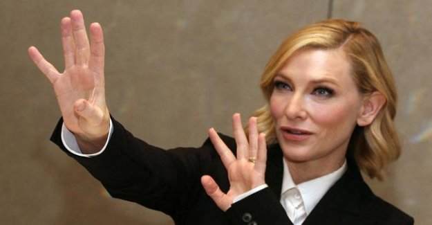 Cate Blanchett the victim of an accident chainsaw for the containment