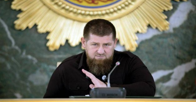 Chechen leader supports the trouble in the French city