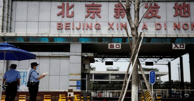 Chefepidemiolog: New outbreak in Beijing is approaching the end