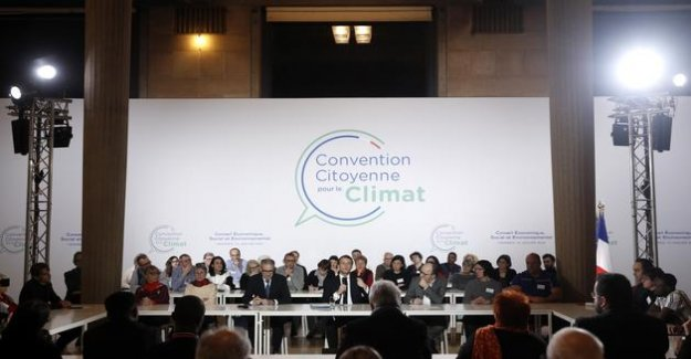 Convention on climate change: EELV supports the all proposals as citizens, LR denounces an ecology punitive