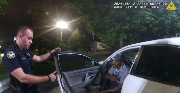 Cop accused of skuddrab on the black man in the UNITED states