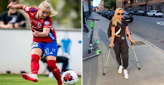 Damallsvenska of the star to miss the entire season